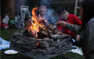 Senior Campfire in Seattle, Washington