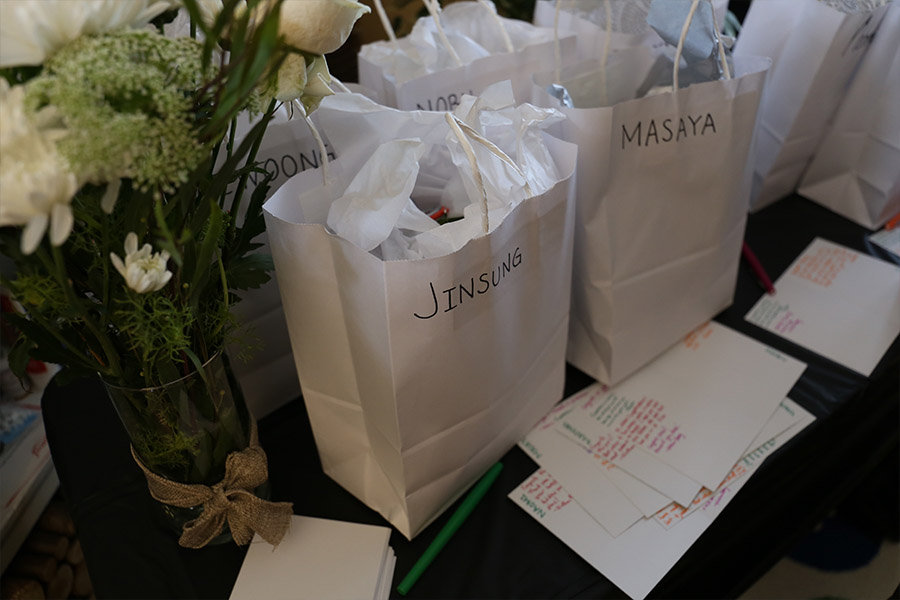 CVL makes gift bags for graduates