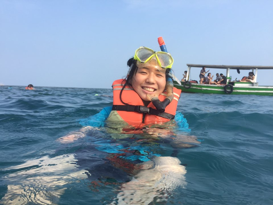 Jr. LTF goes snorkeling