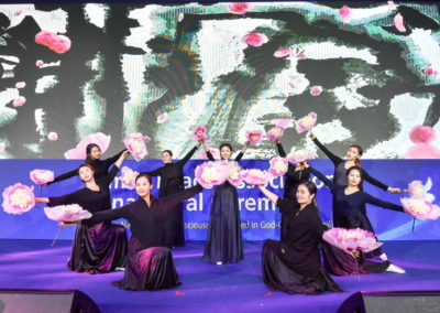 The Biseul Dance Company performance.