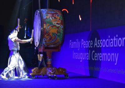 Traditional Korean drum performance