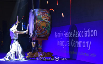 News Coverage of the Family Peace Association Inaugural Ceremony